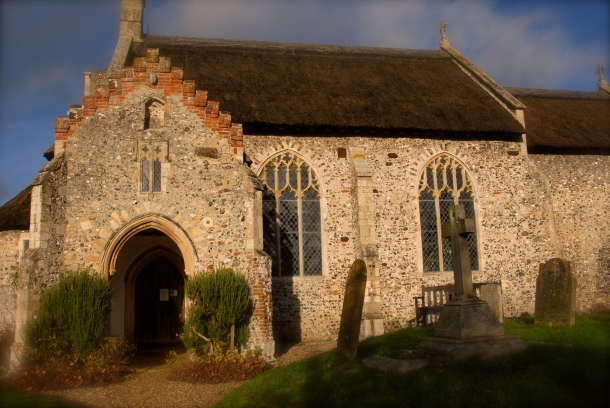 Church in Ingworth, Norfolk Photo: Hanne Siebers